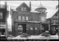 Historic photo from Thursday, January 8, 1931 - Duplex at 155-157 Dupont Street in The Annex