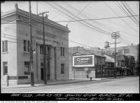 Historic photo from Sunday, August 23, 1931 - South side Queen Street from Simcoe Street west to 233 in Downtown