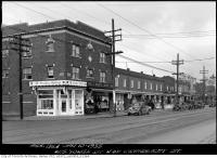 Historic photo from Thursday, January 10, 1935 - West side Yonge Street north of Craighurst in Lytton Park