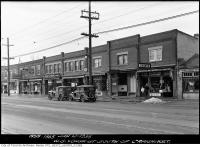 Historic photo from Thursday, January 10, 1935 - West side Yonge Street south of Craighurst in Lytton Park