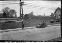 Historic photo from Friday, May 16, 1930 - Conger Lehigh Coal Co - Northeast from 889 Gerrard Street in Leslieville