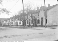 Historic photo from Thursday, May 22, 1913 - Row houses at 2-34 Stewart Street in Wellington Place