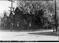 Historic photo from Tuesday, May 12, 1953 - Trees at 603 Sherbourne Street in Upper Jarvis