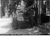 Historic photo from Monday, June 22, 1953 - Looking north from 611 Sherbourne Street in Upper Jarvis