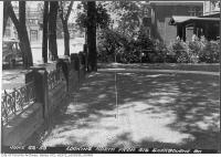 Historic photo from Monday, June 22, 1953 - Looking north from 619 Sherbourne Street in Upper Jarvis