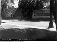 Historic photo from Monday, June 22, 1953 - Sign at 627 Sherbourne Street in Upper Jarvis