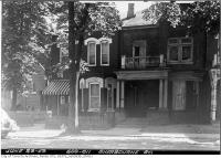 Historic photo from Tuesday, June 23, 1953 - 609-611 Sherbourne Street in Upper Jarvis
