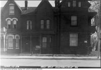 Historic photo from Wednesday, March 10, 1954 - 603-605 Sherbourne Street in Upper Jarvis
