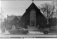 Historic photo from Wednesday, March 10, 1954 - Church at 619 Sherbourne Street in Upper Jarvis