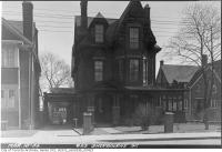 Historic photo from Wednesday, March 10, 1954 - 623 Sherbourne Street in Upper Jarvis