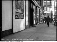 Historic photo from Thursday, October 5, 1916 - Rialto Theatre (side) Yonge and Shuter with Power and Weber Eye of God ad in Garden District