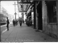 Historic photo from Thursday, October 5, 1916 - Rialto Theatre - Yonge and Shuter Streets - south east corner in Garden District