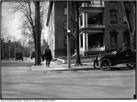 Historic photo from Saturday, October 28, 1916 - Wilton (now Dundas) and Jarvis north west corner in Garden District