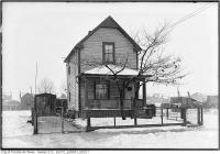 Historic photo from 1933 - TTC property - St. Clair and Runnymede Road District in Runnymede