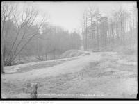 Historic photo from Friday, February 14, 1913 - Rosedale Ravine - north from Roxborough Street Bridge in Rosedale