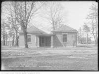 Historic photo from Tuesday, April 29, 1913 - Dufferin Grove park building in Dufferin Grove