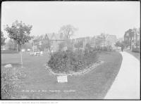Historic photo from Thursday, October 9, 1913 - New trees and garden in Kendal Square (now Jean Sibelius Square) in The Annex