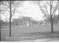 Historic photo from Tuesday, October 14, 1913 - Victoria Memorial Park (Square) with War of 1812 Memorial in Wellington Place
