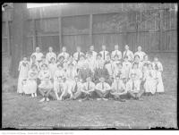 Historic photo from Wednesday, July 7, 1915 - Playground Playground Supervisors at Moss Park in Moss Park