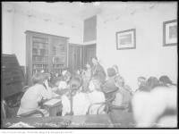 Historic photo from Friday, December 1, 1916 - Moss Park Recreation Centre - The Story Hour in Moss Park