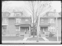 Historic photo from Wednesday, May 23, 1917 - Trees at 327 Brunswick Avenue north of Bloor St West in The Annex