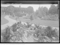 Historic photo from Wednesday, August 11, 1920 - Exhibition Planting in the gardens in CNE