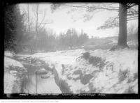 Historic photo from Saturday, December 9, 1922 - River and hills north of Sherwood Park in Sherwood Park