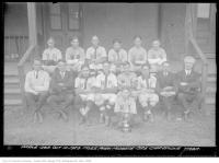 Historic photo from Saturday, October 10, 1925 - Moss Park Midgets - T.A.B.A. Champions in Moss Park