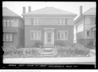 Historic photo from Monday, June 7, 1926 - Front lawn at 91 Hillsdale Avenue W., just east of Colin Ave. in Chaplin Estates