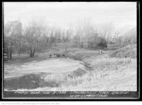Historic photo from Friday, November 3, 1933 - Lawrence Park Ravine - north of Lympstone Avenue in Lawrence Park