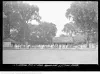 Historic photo from Saturday, August 17, 1935 - Lytton Park - lawn bowling in Lytton Park