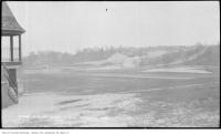 Historic photo from Saturday, May 11, 1912 - Riverdale Park : looking north on east side of Don River in Riverdale park
