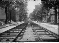 Historic photo from Thursday, May 25, 1911 - Wilton west of Jarvis - track construction in Garden District