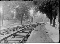 Historic photo from Wednesday, June 7, 1911 - All Saints Church in distance at Wilton Cres. east of Sherbourne in Garden District