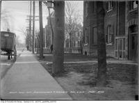 Historic photo from Thursday, December 19, 1912 - Southwest corner Beaconsfield and Argyle Street in Beaconsfield Village