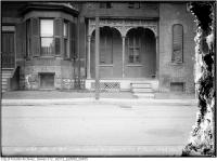 Historic photo from Tuesday, May 4, 1915 - 363 Wilton Ave. - curb heaved up by frost in Garden District