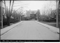 Historic photo from Thursday, April 11, 1918 - Corner Warren and Clarendon looking south in South Hill