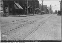 Historic photo from Tuesday, June 8, 1920 - Ossington Ave. south of Dundas St in Trinity Bellwoods
