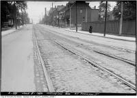 Historic photo from Tuesday, June 8, 1920 - Ossington Ave. at Harrison St in Dufferin Grove