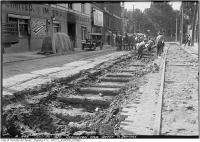Historic photo from Monday, July 26, 1920 - Ossington Ave. Queen to Dundas in Trinity Bellwoods