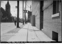 Historic photo from Friday, June 23, 1922 - Northeast corner of Dundas and Spadina in Chinatown (Spadina Ave)