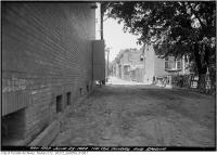 Historic photo from Friday, June 23, 1922 - Alley east of Dundas running north from Spadina in Chinatown (Spadina Ave)