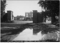 Historic photo from Tuesday, September 8, 1925 - Baby Point Rd. looking east to Jane St in Baby Point