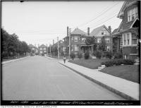 Historic photo from Friday, July 30, 1926 - Southwest corner Playter and Butternut (hedge) in Playter Estates