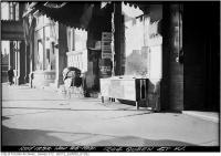 Historic photo from Thursday, November 26, 1931 - Gladstone Hotel at 1204 Queen St. West (Soft drinks stand) in Beaconsfield Village