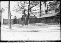 Historic photo from Saturday, February 20, 1932 - Southwest corner Hillsdale and Bayview Ave in Davisville Village