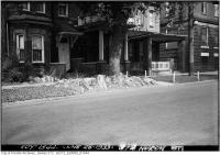 Historic photo from Monday, June 26, 1933 - 374 Huron St. - rockery in Huron Sussex