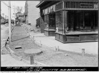 Historic photo from Thursday, May 30, 1935 - Store for rent at the northwest corner Annette and Beresford in Runnymede