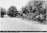 Historic photo from Tuesday, June 11, 1935 - Duplex at Lytton looking north in Lytton Park