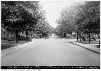 Historic photo from Tuesday, June 11, 1935 - Lytton at Duplex looking east in Lytton Park